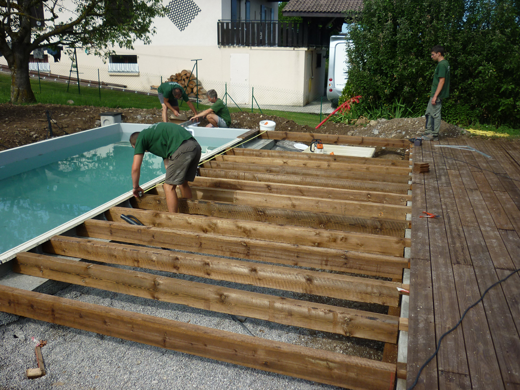 Comment Faire Une Terrasse En Bois Piscine Diverses Id Es De Conception De Patio