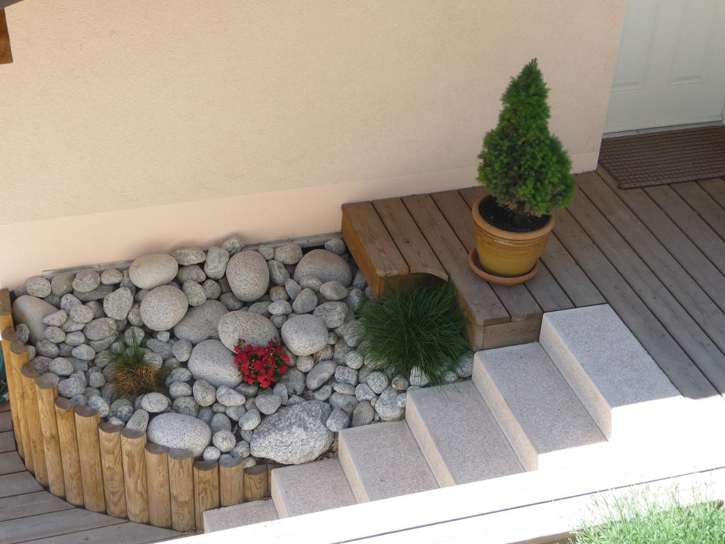 Paysagiste evian les bains ma onnerie paysag re for Amenagement jardin savoie