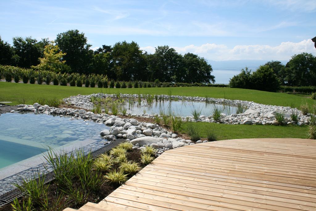 Baignade naturelle haute savoie piscine biologique for Camping thonon les bains avec piscine