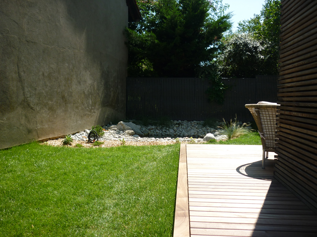 Paysagiste saint julien en genevois am nagement paysager for Amenagement jardin 74