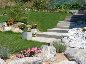 paysagiste thonon les bains escaliers paysagers