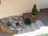 paysagiste evian les bains soutènement escalier