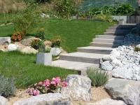 paysagiste evian les bains escalier soutenement