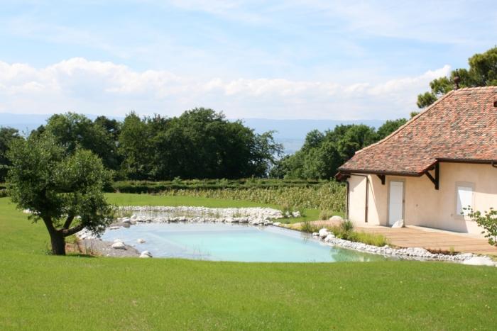 Baignade naturelle haute savoie piscine naturelle paysagiste haute savoie 74 cr ation de - Bassin baignade biologique bordeaux ...